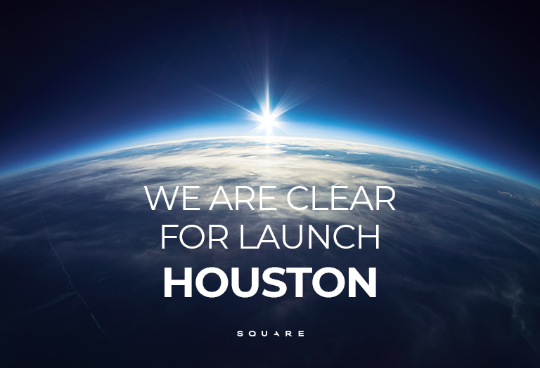 Square Design Firm Houston is clear for launch.