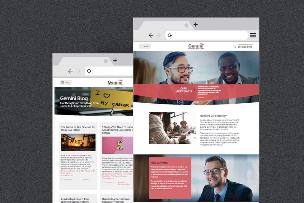 Gemini MSP - Full Web Design