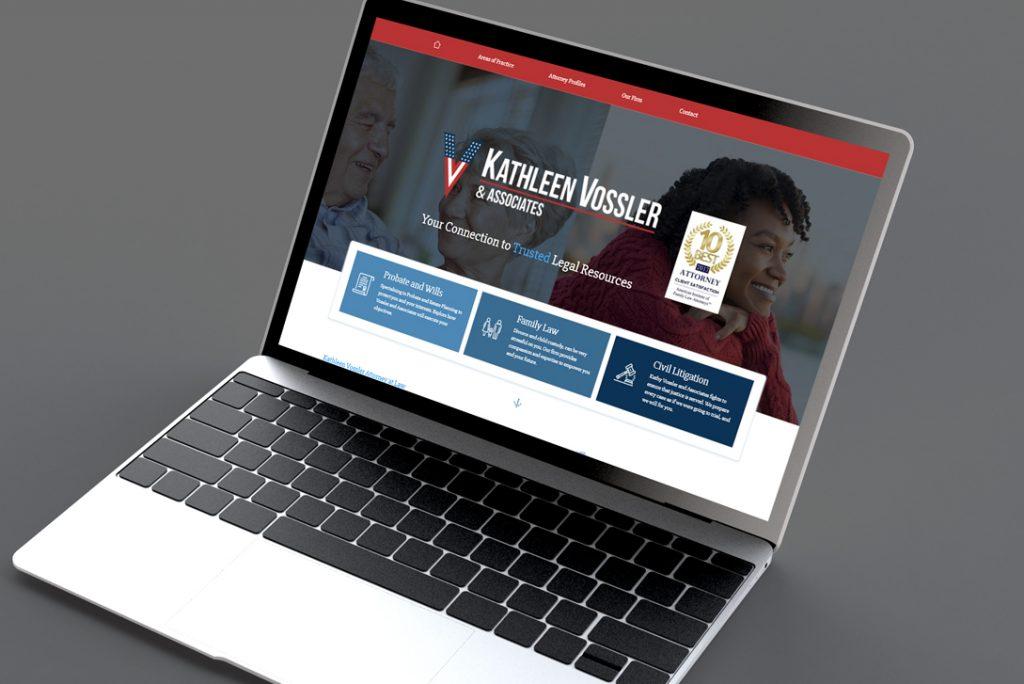Kathleen Vossler & Associates - Brand Identity and Website Design