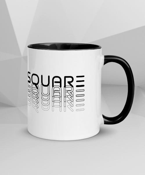 Square Cyber Fade Mug